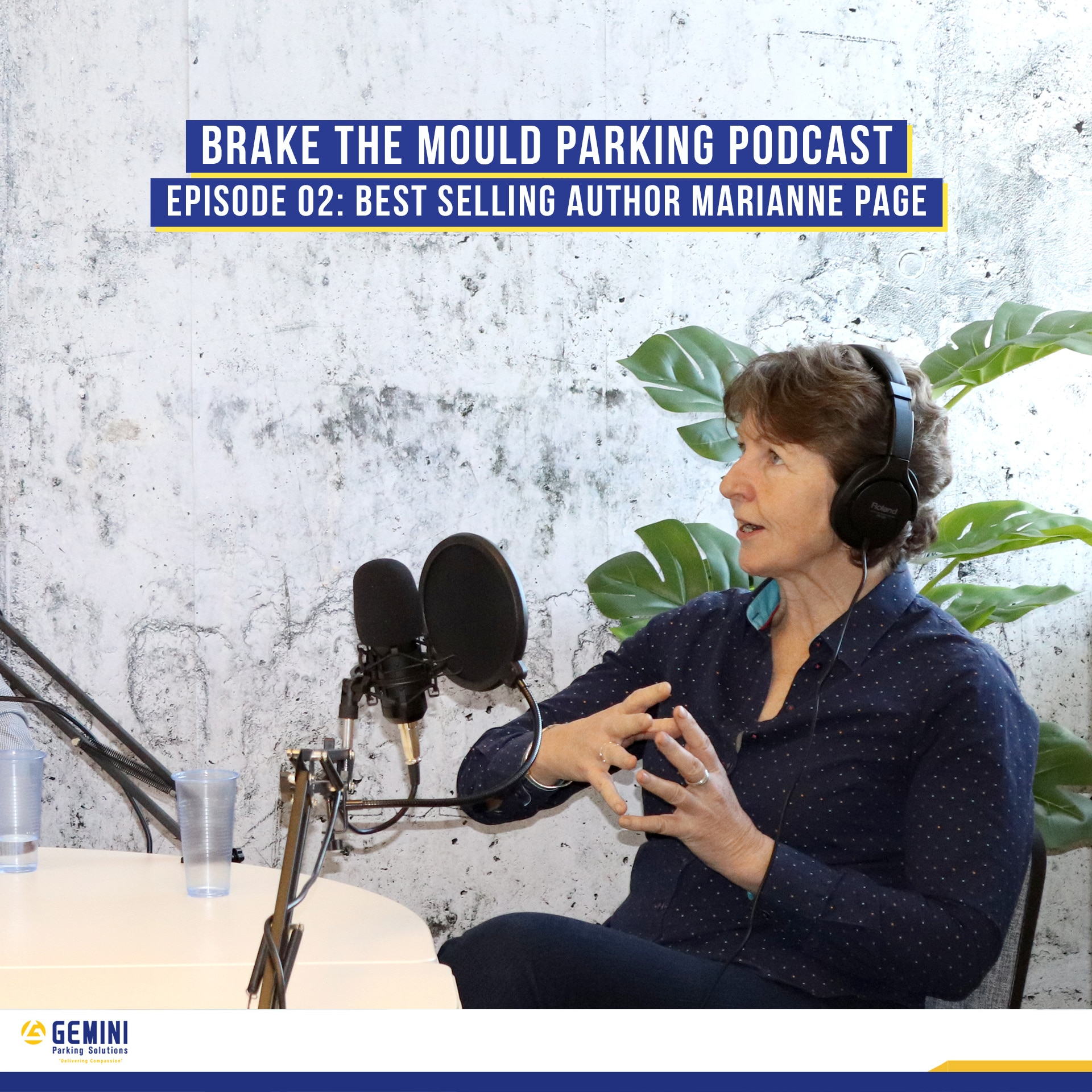 Brake The Mould podcast with Marianne Page - employee engagement in the parking industry