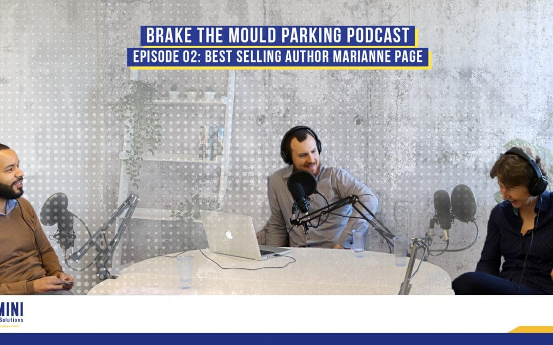 Brake The Mould Podcast: Episode 02 – Marianne Page