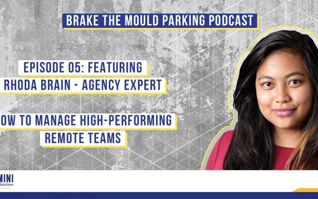 Brake The Mould Podcast: Episode 05 – Rhoda Brain Agency Expert